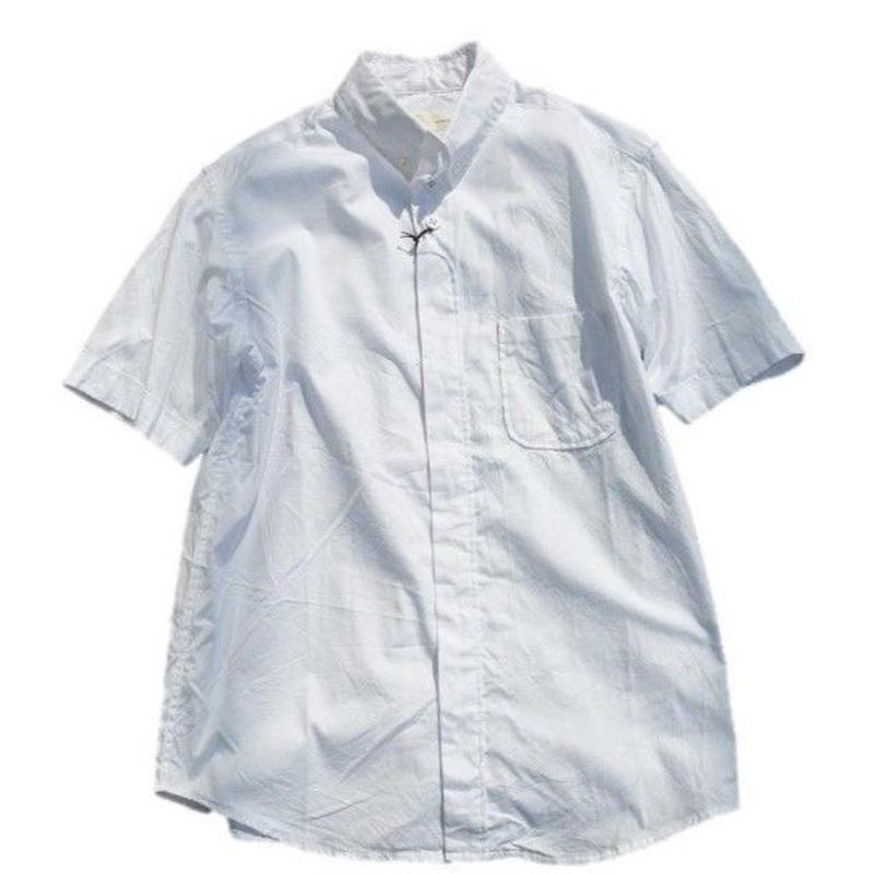 nisica(ニシカ)   ボタンダウンシャツ  WHITE(プレミアムオックス)