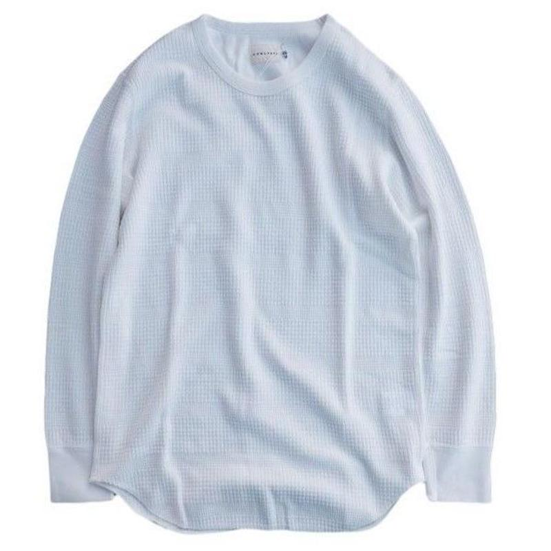 CURLY(カーリー)   SWITCHING LS TEE   WHITE