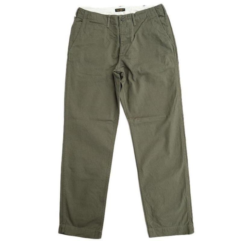 *A VONTADE(アボンタージ)  Classic Chino Trousers  -Regular Fit-  OLIVE