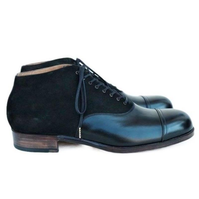 forme(フォルメ)  fm-88 Balmoral Ankle Boots - Straight tip  (mckay)