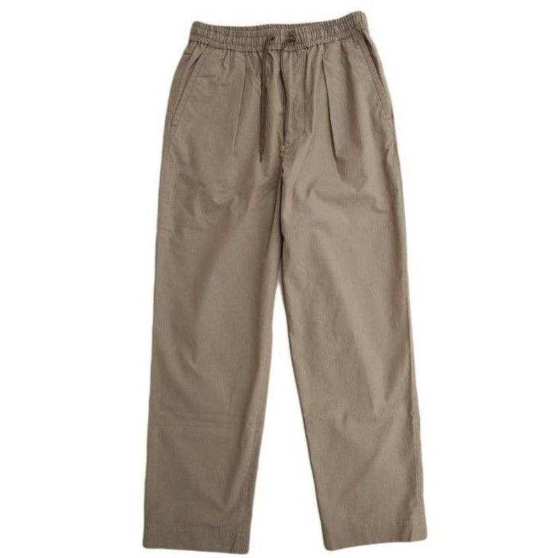 *A VONTADE(アボンタージ)   1 Tuck Wide Easy Trousers   OLIVE DRIB
