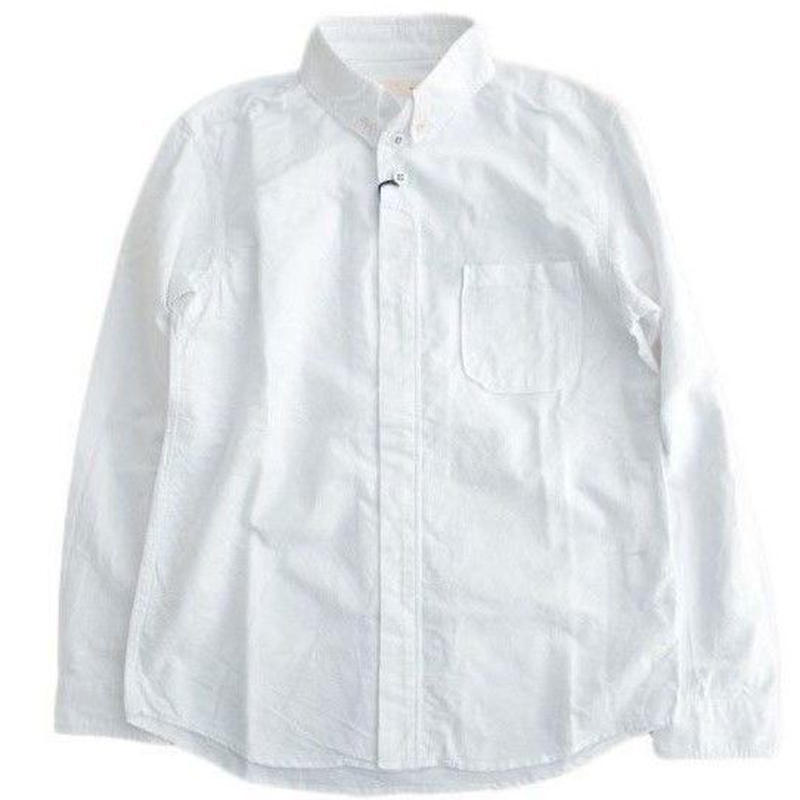 nisica(ニシカ)   ボタンダウンシャツ  WHITE
