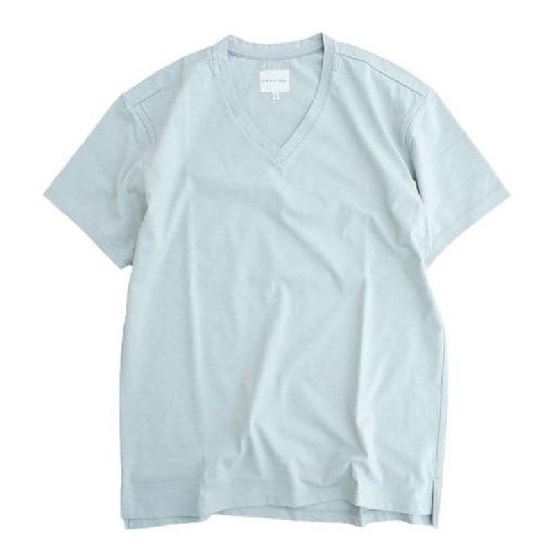 CYRLY(カーリー)   ABN SS V NECK TEE  LT.GRAY