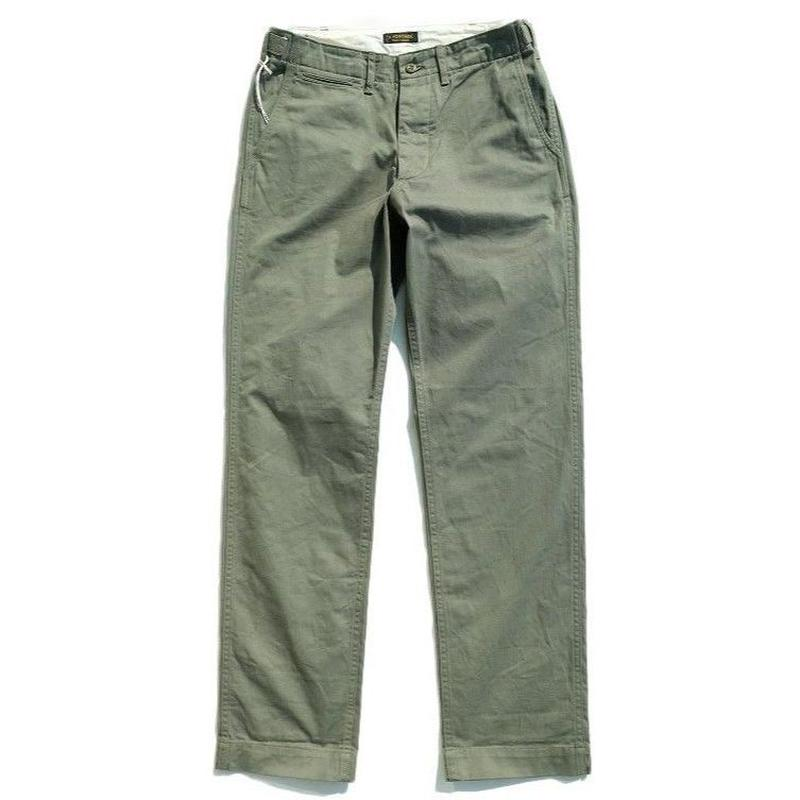 *A VONTADE  (アボンタージ)   Classic Chino Trouers  -regularfit-   OLIVE