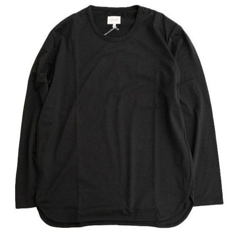 CURLY(カーリー)   SDH LS CN TEE  BLACK