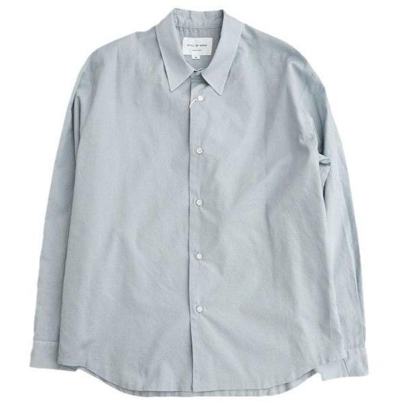STILLBYHAND(スティルバイハンド)  ローン袋縫いシャツ  BLUEGRAY