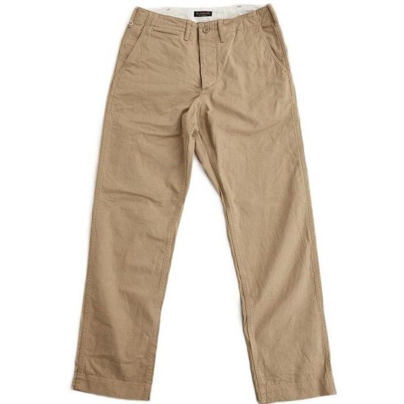 *A VONTADE(アボンタージ)  Classic Chino Trousers  -Regular Fit-  BEIGE