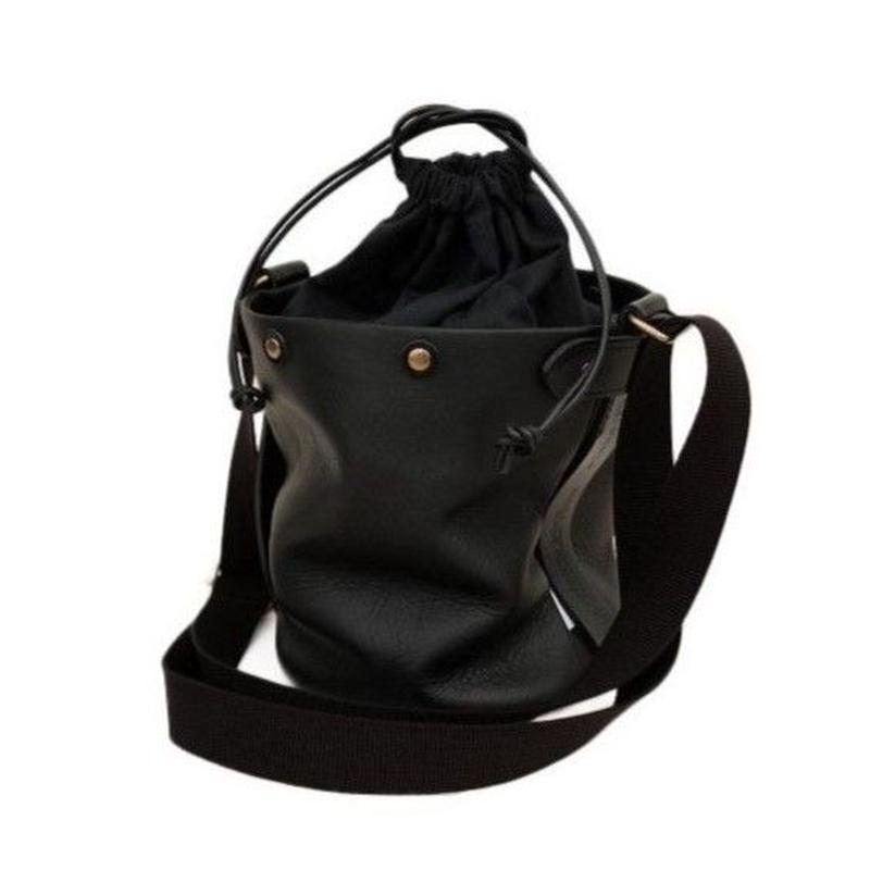 suolo(スオーロ)   SAND mini leather  BLACK