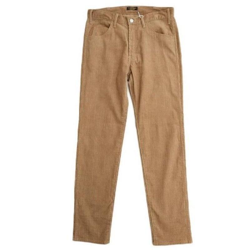 *A VONTADE(アボンタージ)   Slim Jeans-Slab Corduroy  TAN