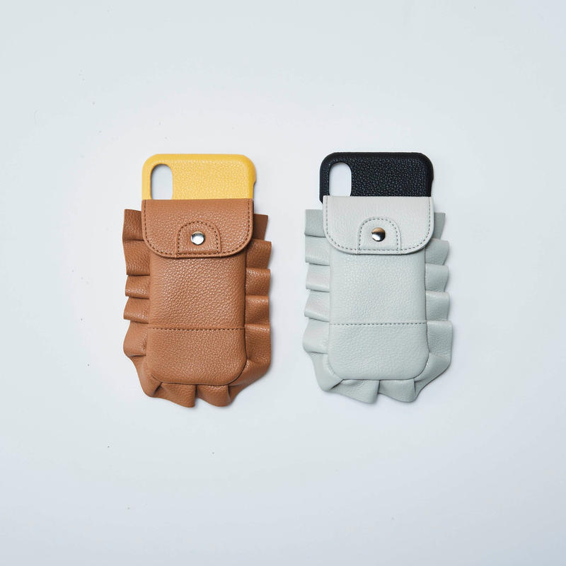 B&C Frill case  (iphone X/Xs対応サイズ)