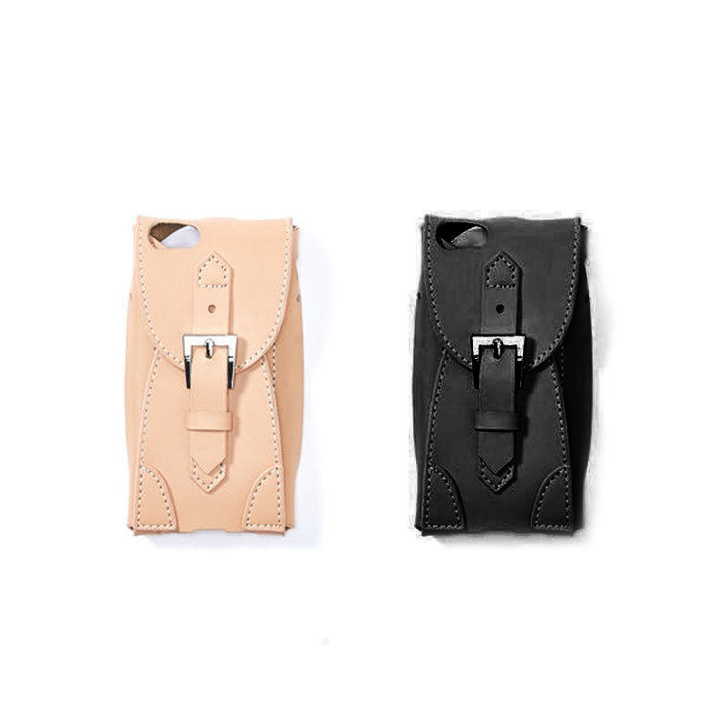 Leather inset  case(iphone6/6s/7/8 共通サイズ)