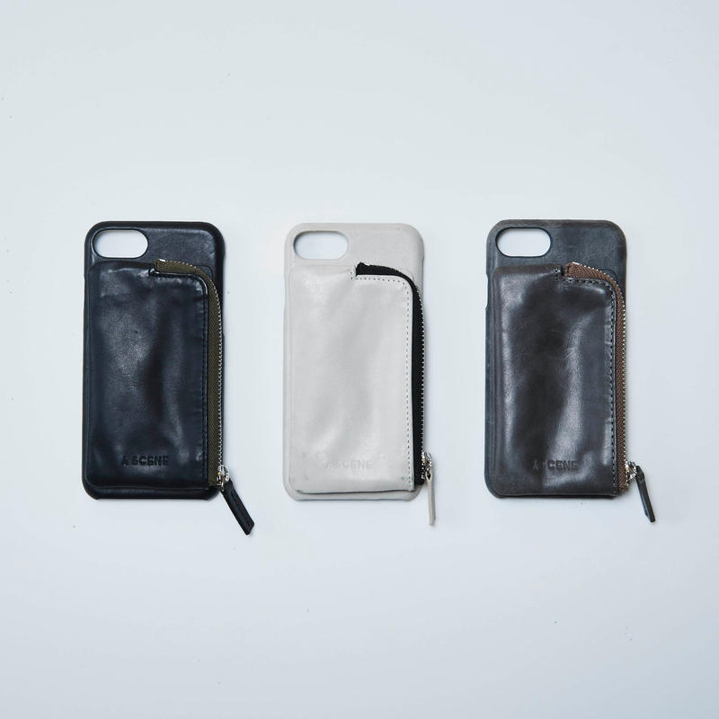 Aging leather case (iphone6Plus/7Plus/8Plus共通サイズ)