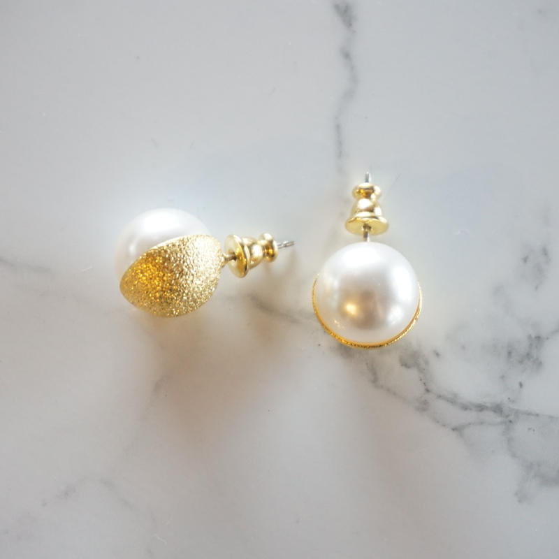 in mood // cup pearl ピアス イヤリング