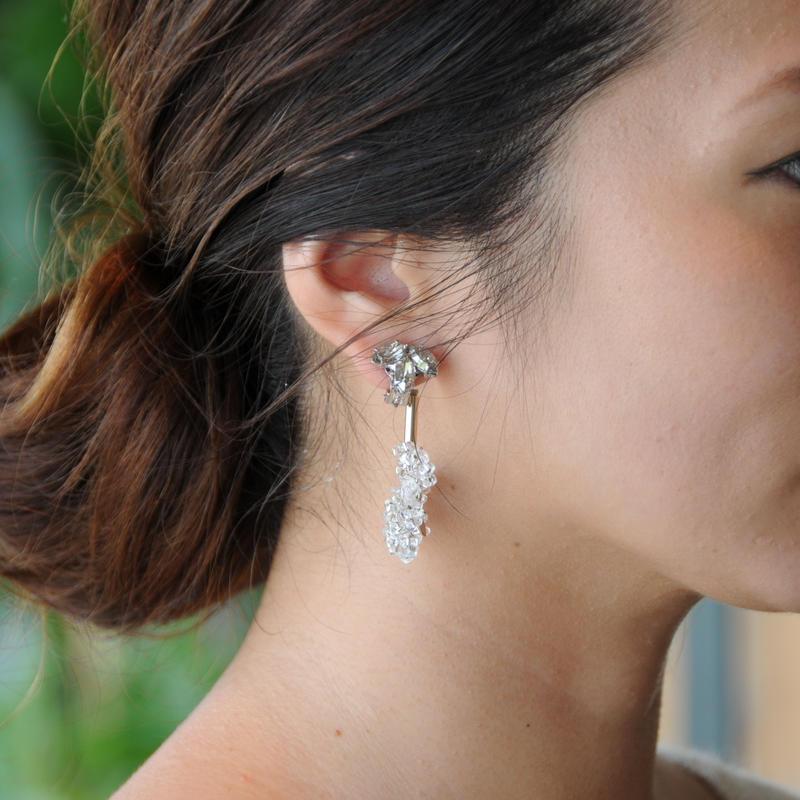 cilsoie // スワンピアス&イヤリング Swan earrings
