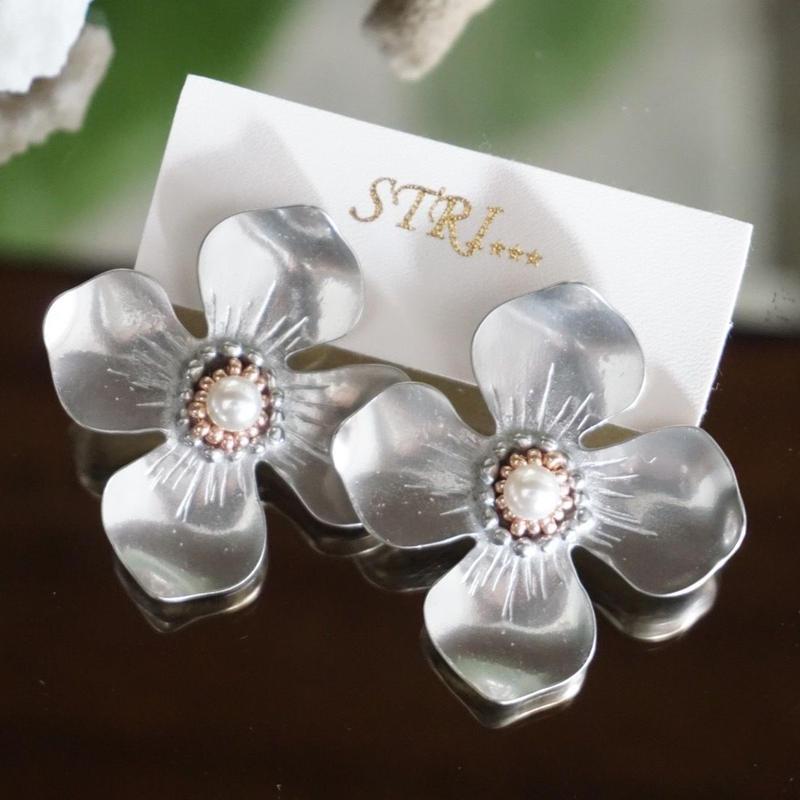 STRI // Hinageshi earrings