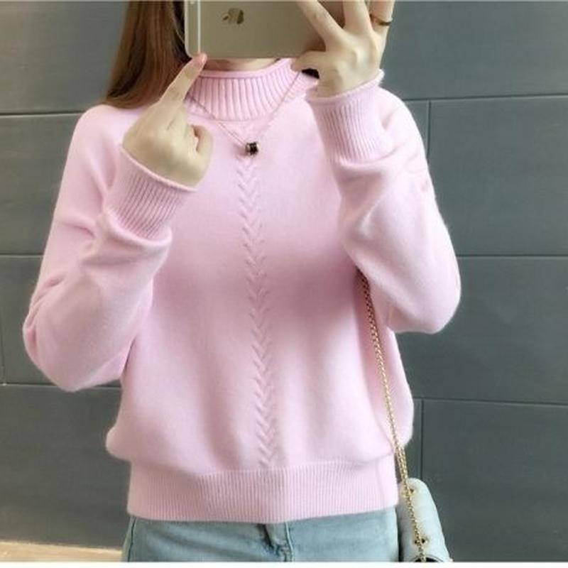 可愛い ふわふわ 人気 タートル 合わせやすい ニット セーター