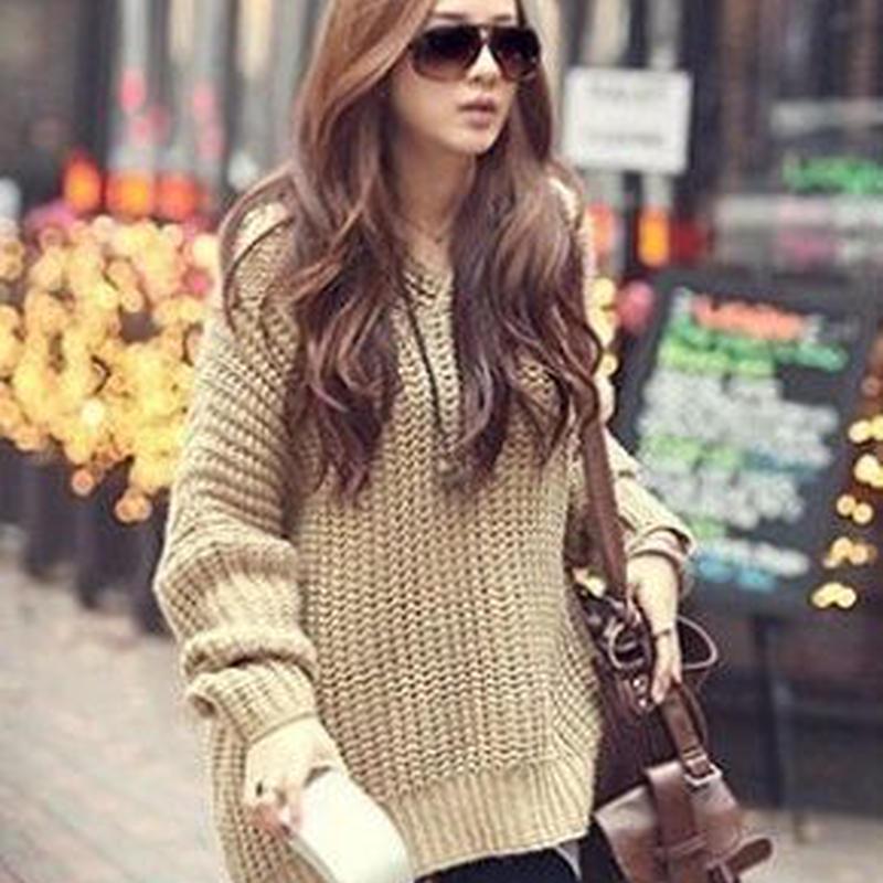ゆったり 暖かい 秋冬 ビッグシルエット パーカー セーター