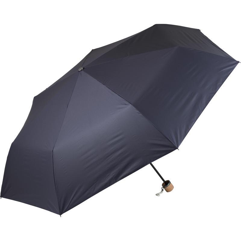 【a.s.s.a】FM174 メンズ折りたたみ日傘 完全遮光 112cm (グレー・ネイビー)