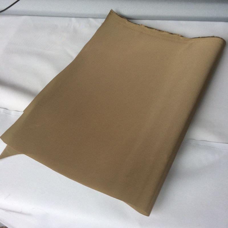 バックパック生地 ナイロン420デニール高密度 ベージュ色(只今送料サービス)