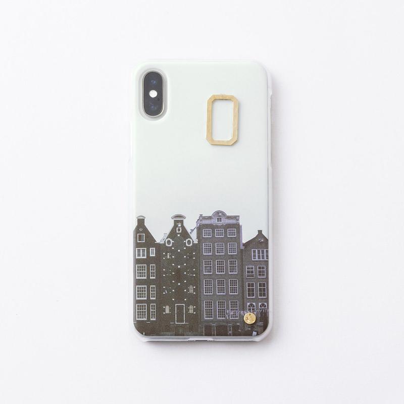 iphoneケース for X / XS ( Asteriscus × Wakako Kikuchi ) 街並