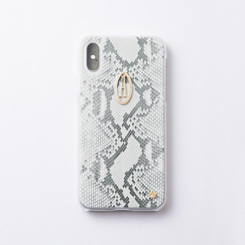 iphoneケース for  X / XS   パイソン× Relife イニシャル
