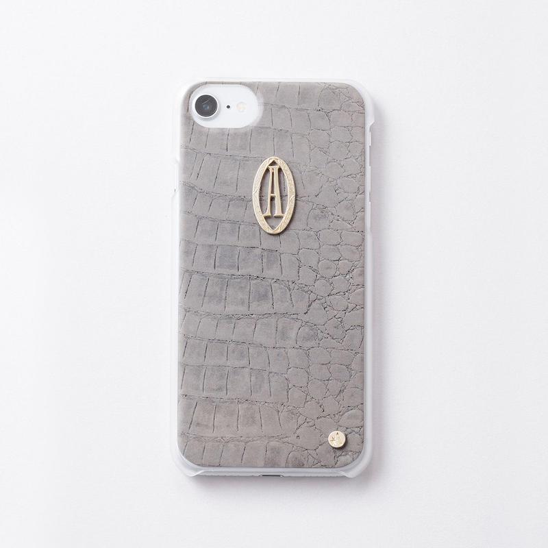iphoneケース for6/7/8  クロコ × Relife イニシャル