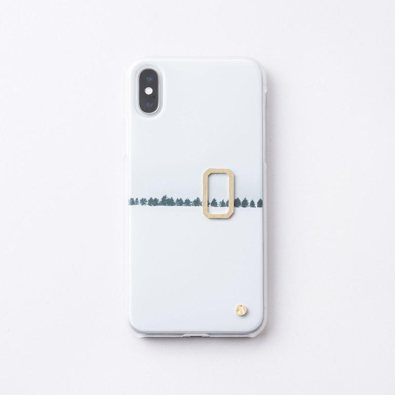 iphoneケース for X / XS( Asteriscus × Wakako Kikuchi ) ゆき-18