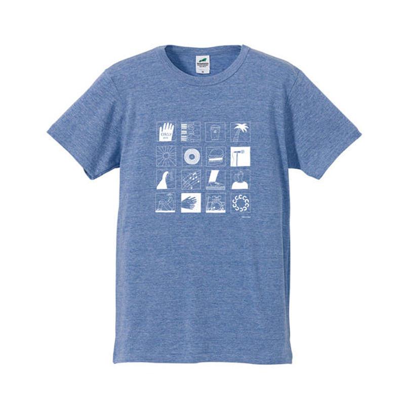 CIRCLE'15 オフィシャル T-Shirts (ヴィンテージヘザーブルー)