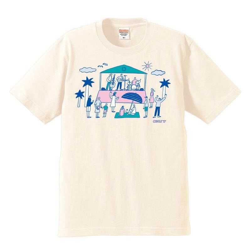 CIRCLE'17  T-Shirts (ナチュラル)