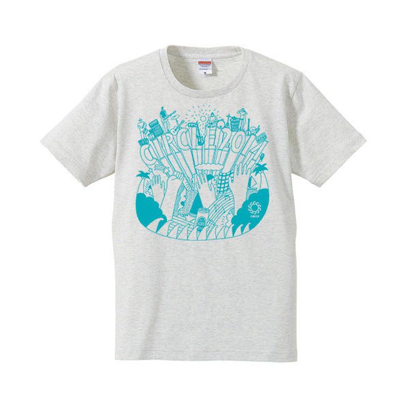 CIRCLE'14 オフィシャル T-Shirts (オートミール)