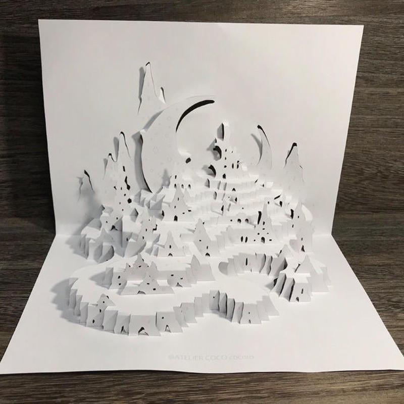 無料DL版【工作キット】月の丘(白)