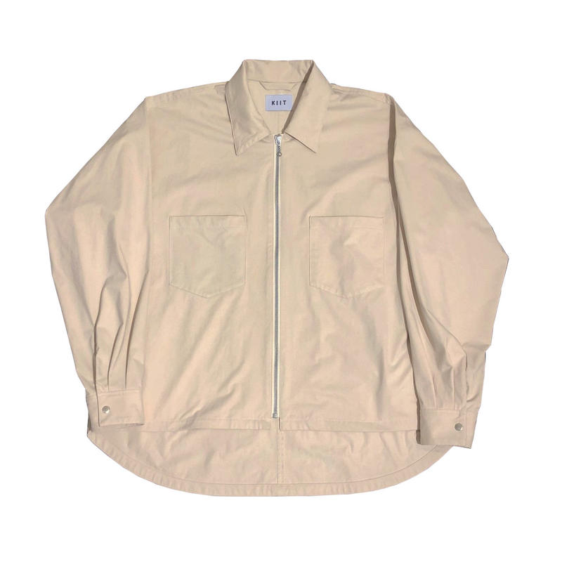 PL/NY RUBBER KANOKO ZIP UP SHIRT JKT