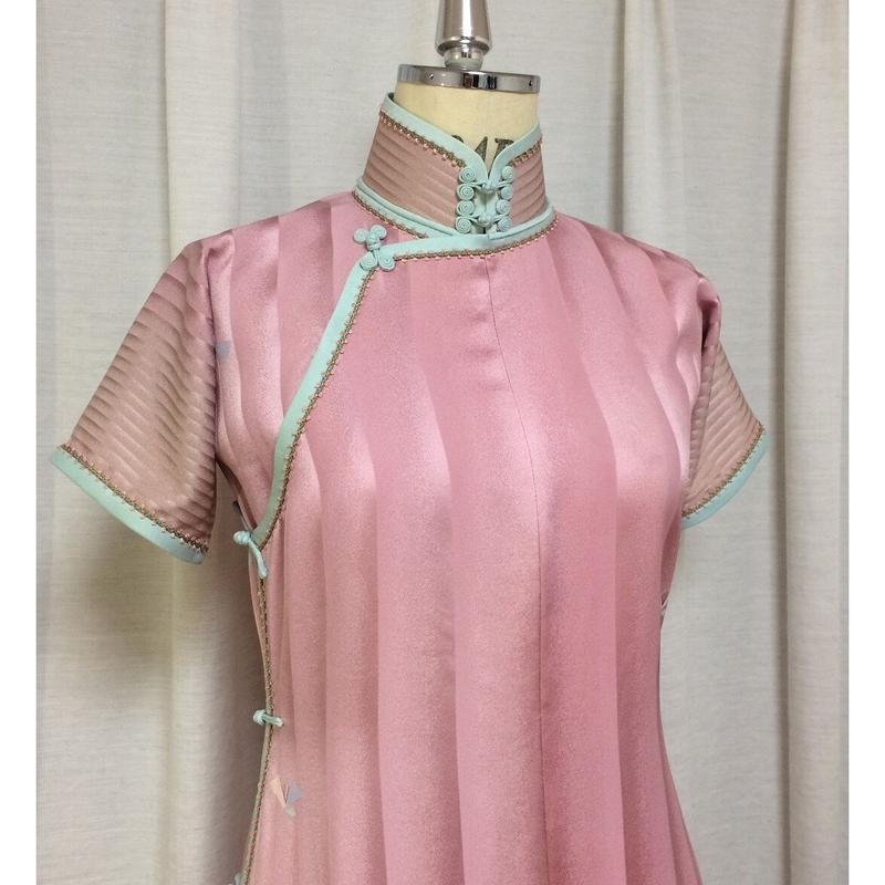 (展示用)着物リメイクのチャイナドレス