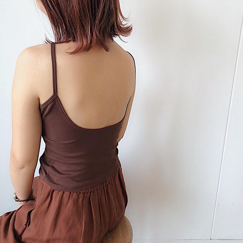 【予約販売】Back open bra-top