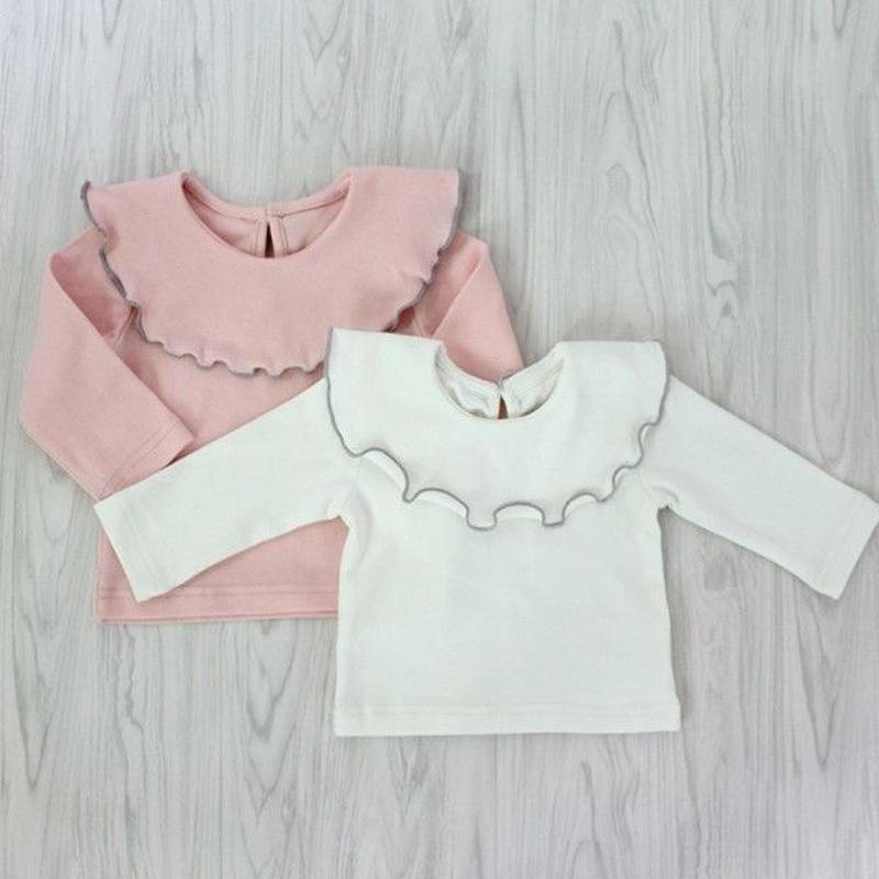 【baby】Frill  collar  tops