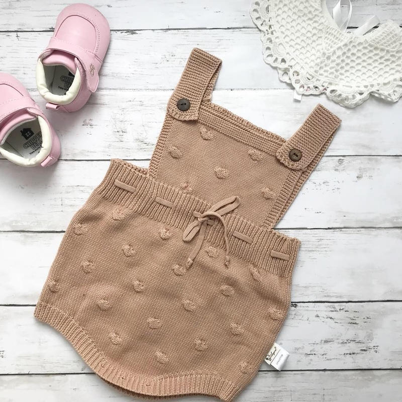 【baby】Knit  rompers