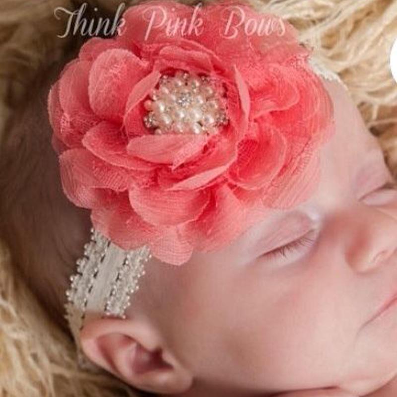 【baby】baby  head  dress  (flower)