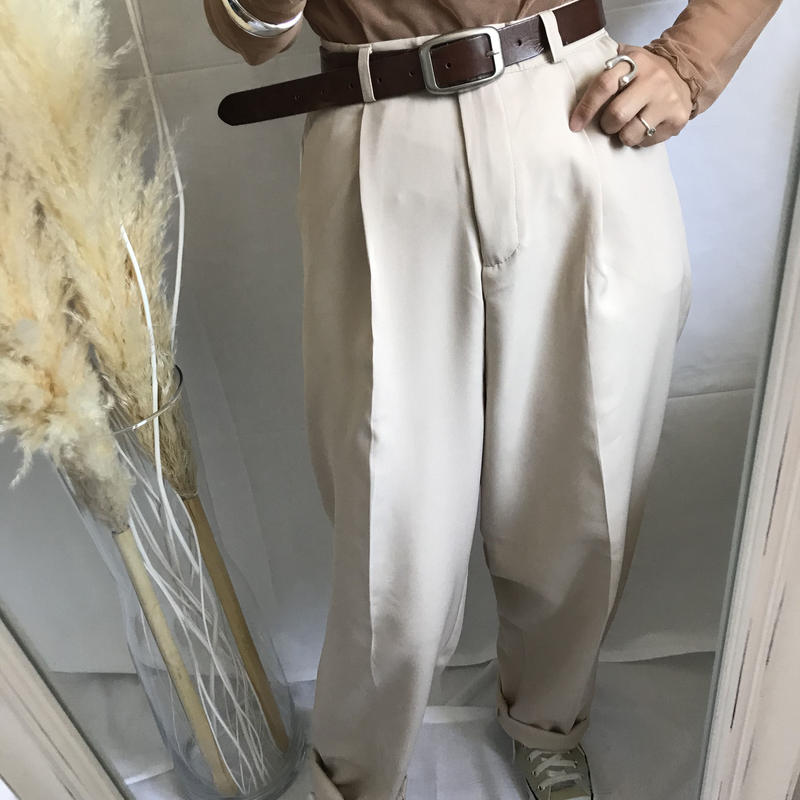 【ladies】Slacks pants