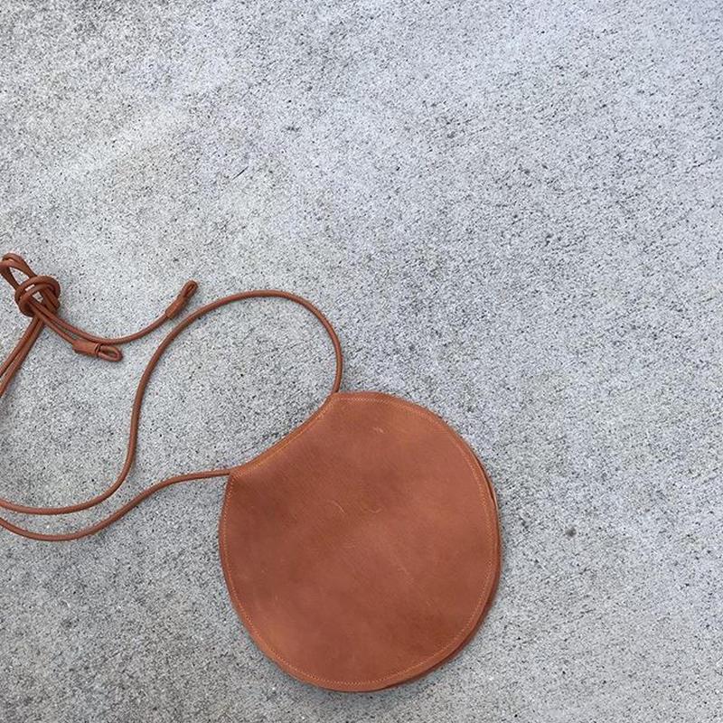 Lamb leather waist bag