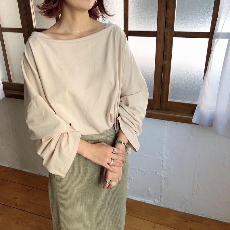 【ladies】Off shoulder tops
