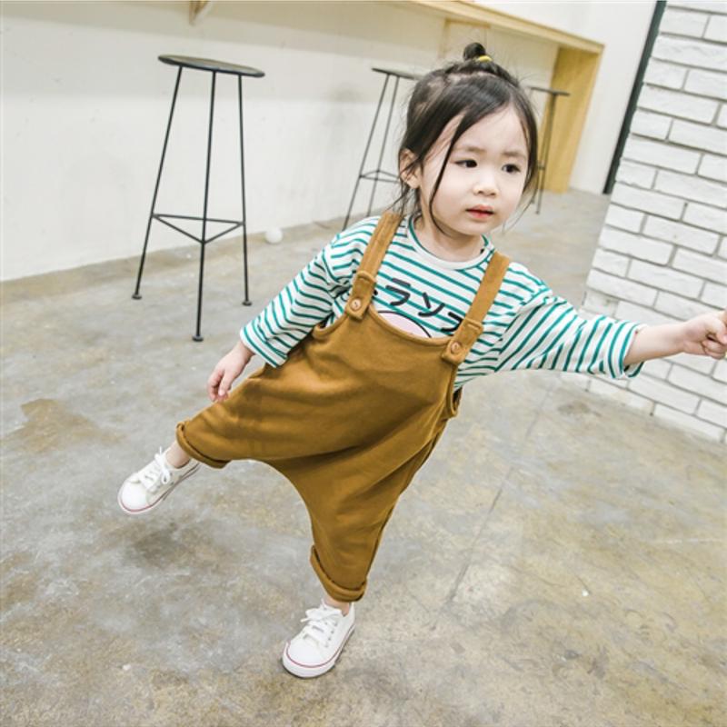 【kids】Cotton salopette