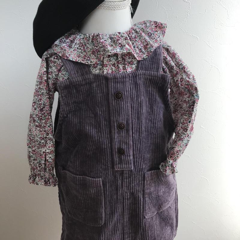 【baby】Spring flower blouse
