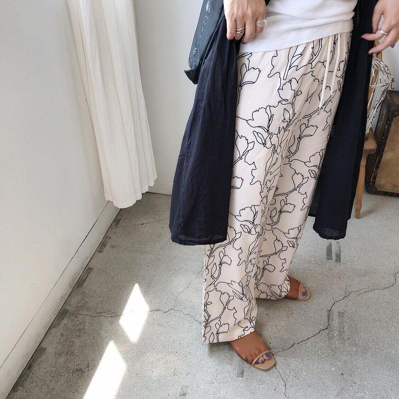 Art  flower pants