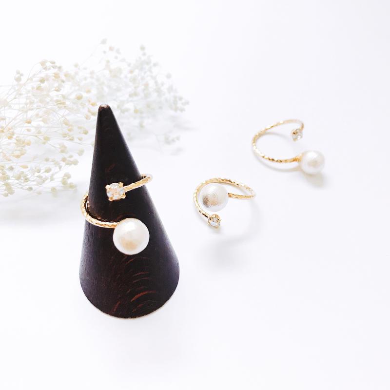 Pearl  Ring - Bijou no.1 -