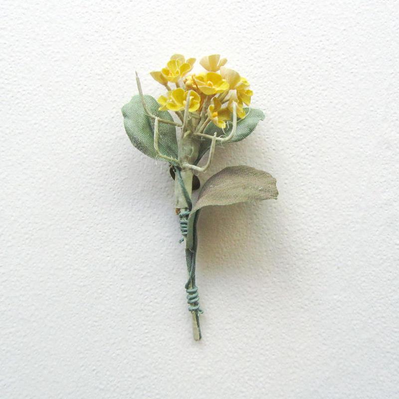≪ヤポニカ≫ 菜の花 ブローチ