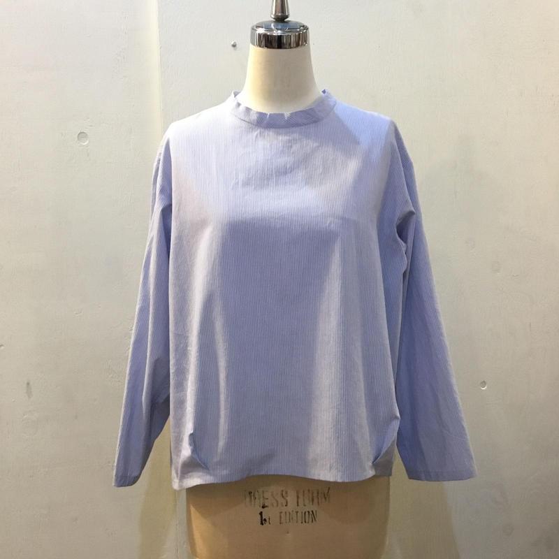 クラウドシャツ ストライプ ブルー