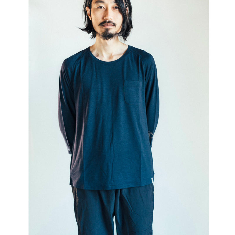 [予約販売2月末発送] Hiker's T-shirt  (8sleeve) size:S