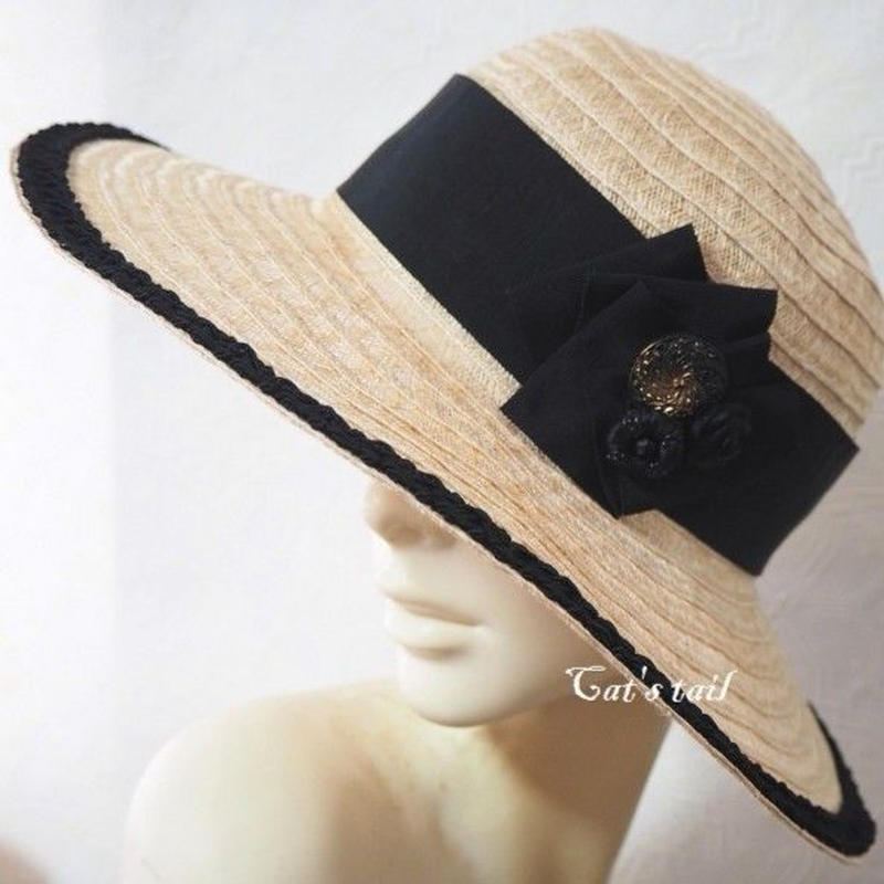 クラシカル女優帽
