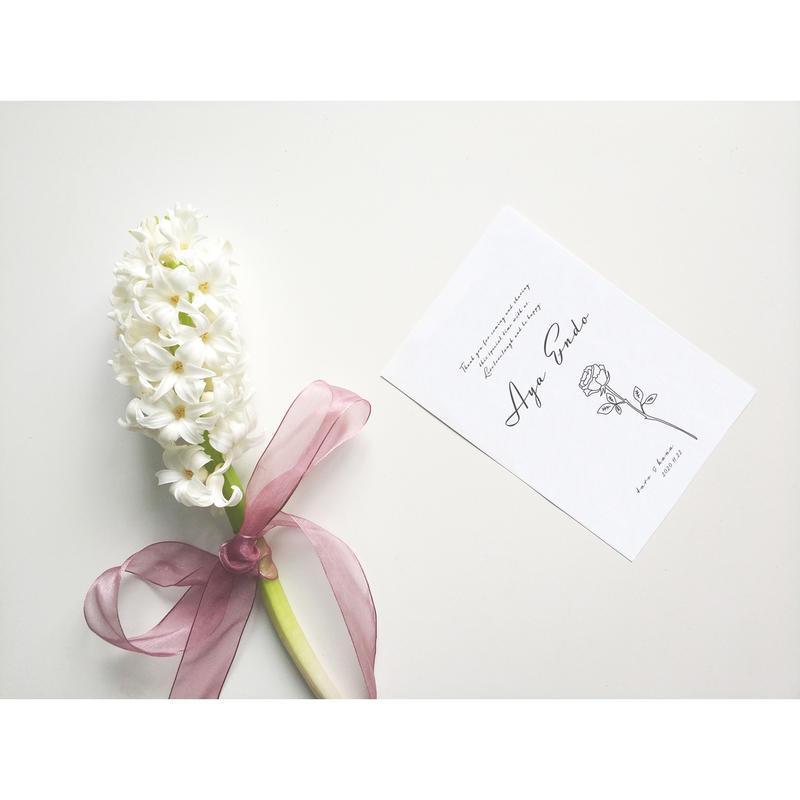 席札|エスコートカード‖ Chic|Wedding escort card 10枚1セット