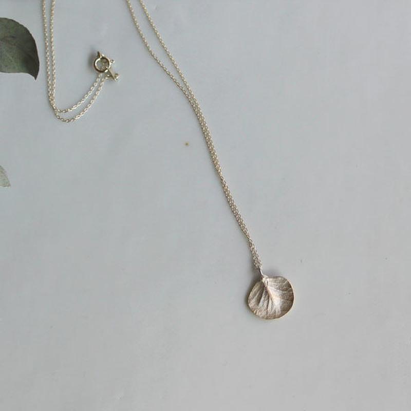 K10 ユーカリのネックレス